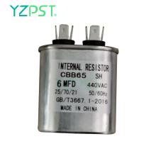 Sale 6uF Motor starting capacitor 450V