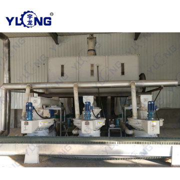 Cotton Stalk Pellets Machine