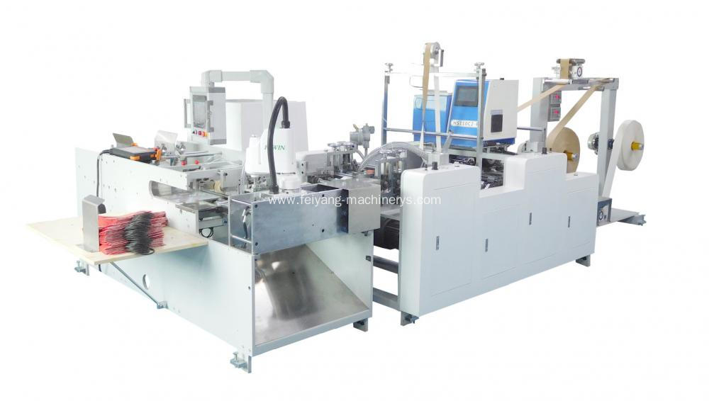 Large Paper Twisted Handle Gluing Machinery