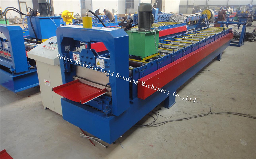 Snap Self Lcok Roof Panel Sheet Making Machine