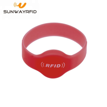 13.56mhz Silicone rfid Chip Wristbands Bracelet
