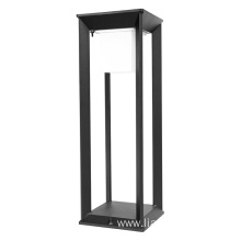 Solar Led Garden Lawn Light Square Bollard Lighting