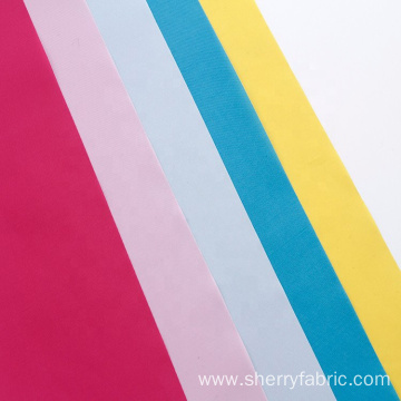 polyester elastic breathability 100 cotton lining fabric
