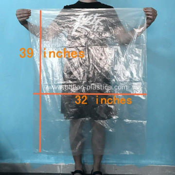 Clear Plastic Flat Open Bag Multipurpose Bag