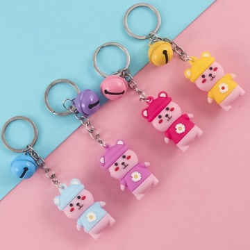 Custom Soft PVC Key Chain Soft Rubber Keychains