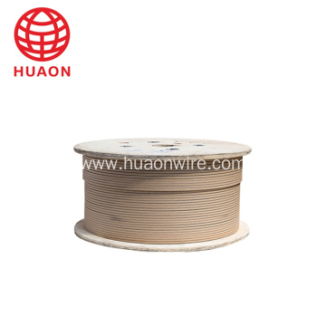 Paper copper Rectangular insulating paper wire
