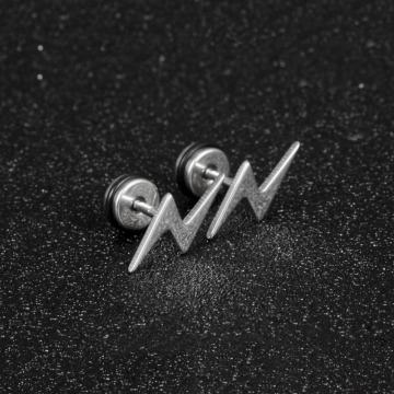 Cool The Flash Stud Earrings For Men