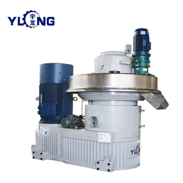 YULONG XGJ850 2.5-3.5T/H straw pellet making machine for sale