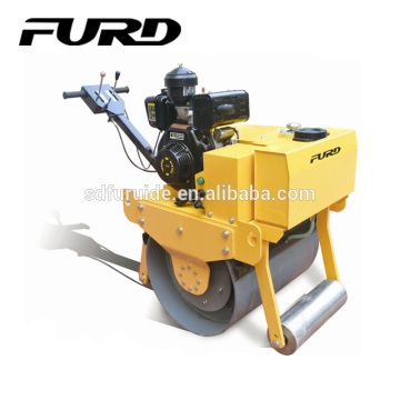 Small Single Drum Famous Gasoline Engine Road Roller For Sale (FYL-700)