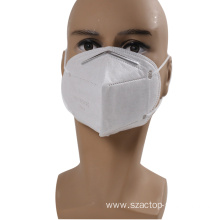 Disposable Nonwoven KN95 Folding Half Face Mask