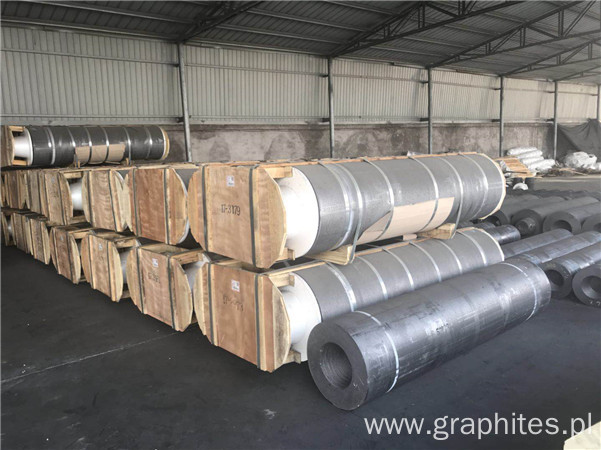 UHP Length 1800 2100 2400mm Carbon Graphite Electrodes