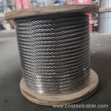 304 6x19+FC Dia.1.5-18mm Stainless steel cable