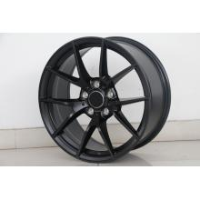Double lip Black wheel rim