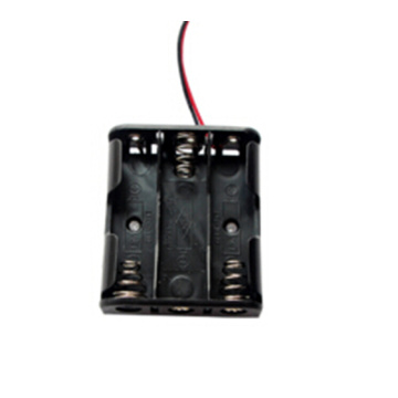 Wire Leads 3 AA  Battery Case Holder