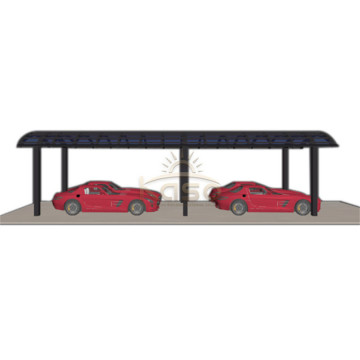 Car Parking Shed Arched Carport With Polycarbonate Roof