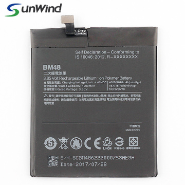 Xiaomi Note2 Replacement Mobile Phone Battery Bm48