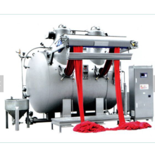 Textile high temperature overflow dyeing machine