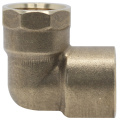 End Feed Brass Elbow CXF