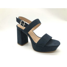 Ladies fashion chunky heel platform sandal
