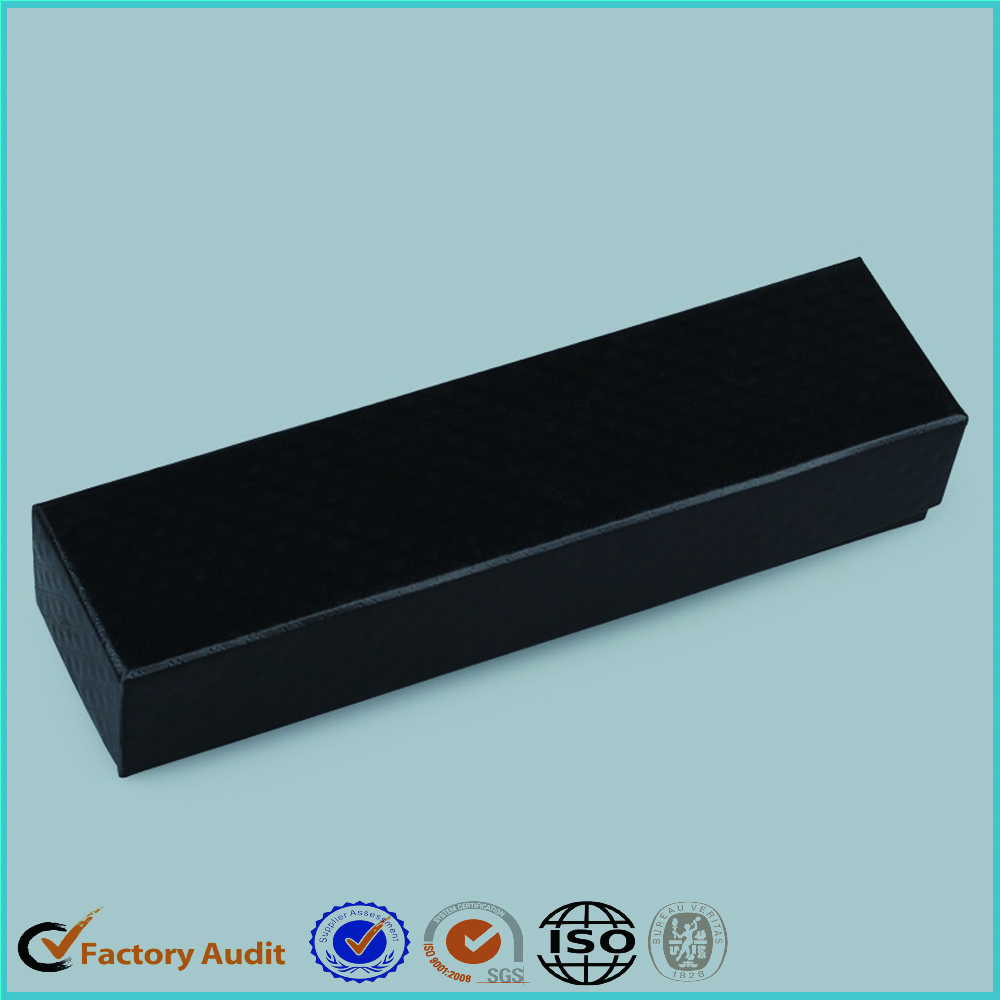 Black Gift Cardboard Boxes With Foam Insert