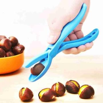 Chestnut Clip Nuts Cracker Stainless Steel Chestnut Cutter Walnut Pliers Clamp Sheller Nut Opener Kitchen Gadget Chestnut Clip