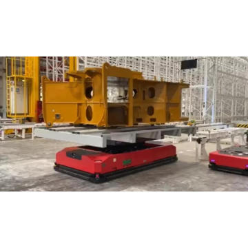 Custom lift table AGV