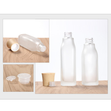 The emulsion spray Wood grain Glass bottle