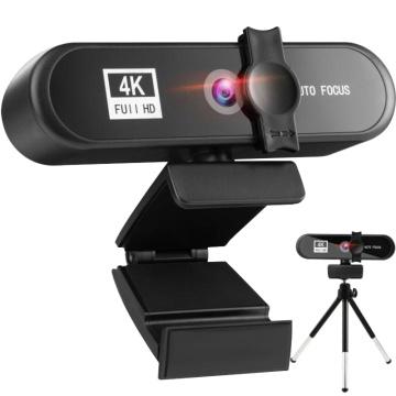 2K 4K Full HD Webcam Computer PC Mini Web cam Cover Laptop Office Meeting Video Web Camera USB Autofocus Webcams With Microphone