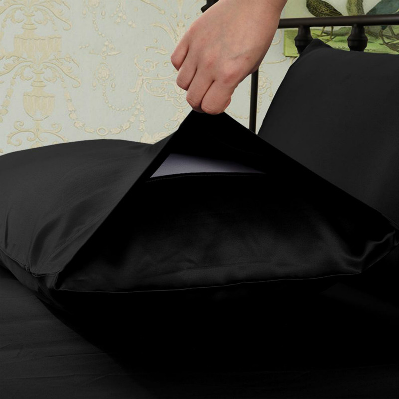 Black Pillowcase