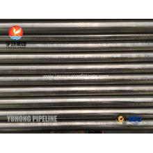 Seamless Inconel 601 Tubing Pickled Anneales Bevel End High Strength