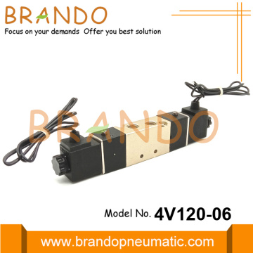 1/8'' NPT 4V120-06 5/2 Way Pneumatic Solenoid Valve