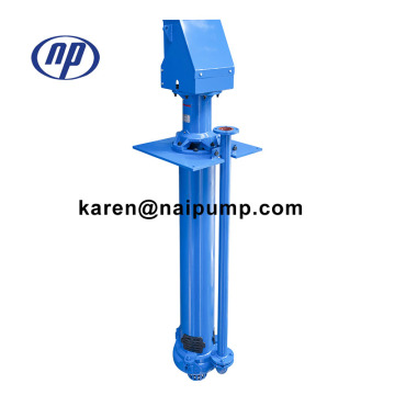 65QV-SP metal lined vertical sump pump