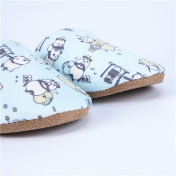 Winter Warm Slippers with Pandas Pattern
