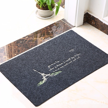 Classic design high quality polyester embroidery mat