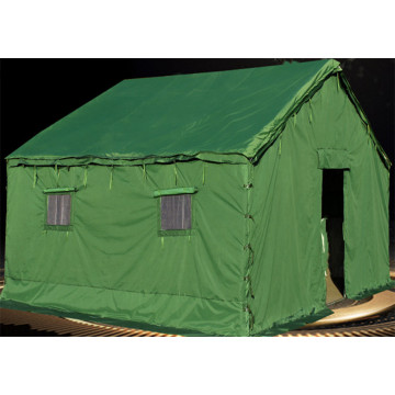 Outdoor tents for disaster relief