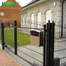 Protection Galvanized Metal Prestige Double Wire Fence