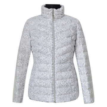 100% nylon print down jacket