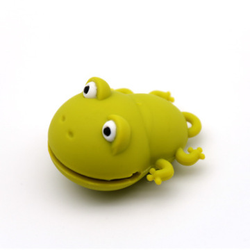 Cute frog flash memory stick