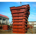Heavy Duty Metal Pier Column Concrete Steel Formwork