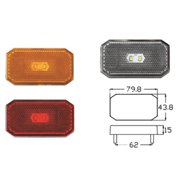 2 Diodes LED Trailer Marker Light
