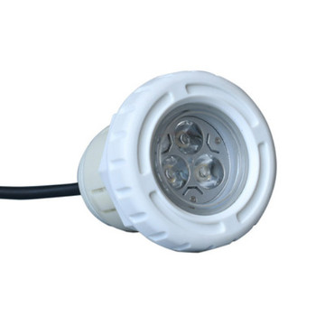 Simple White Morden Vinyl Pool Light