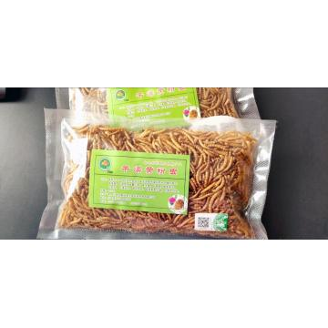 Mealworms with high quality protein