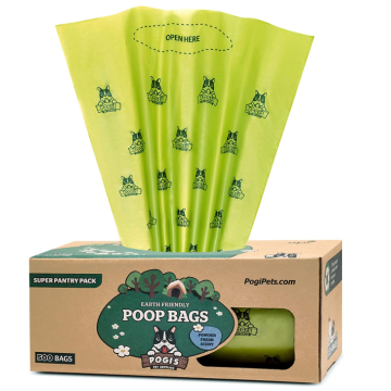 Dog Waste Bags on a Large Single Roll