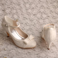 Lace Pumps Shoes for Women Wedding