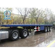 Sinotruk Cimc Container Carrying Flatbed Semi Trailer Truck