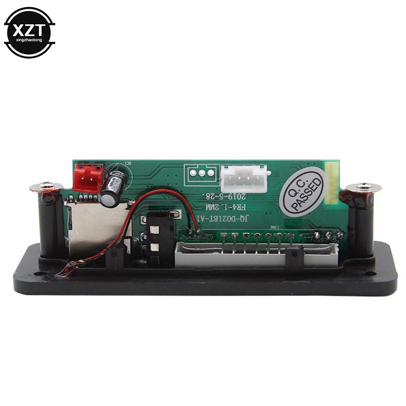 Car Bluetooth 5.0 MP3 WMA Decoder Board Module DC 5V 12V USB SD/TF Card AUX FM Call Audio Lossless format music Remote Control