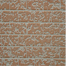 Fireproof A pu sandwich exterior metal wall siding