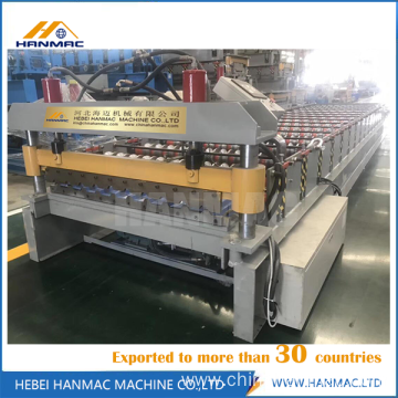 Trapezoidal Metal Sheet Roof Machine