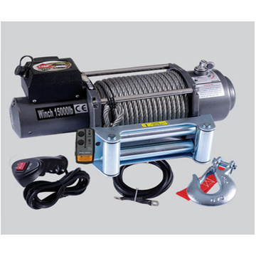 15000lbs Wire Rope Electric Winch for Truck