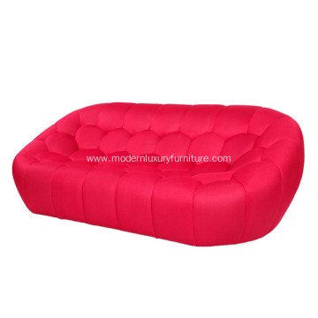 3D fiber fabric David sofa contemporary style